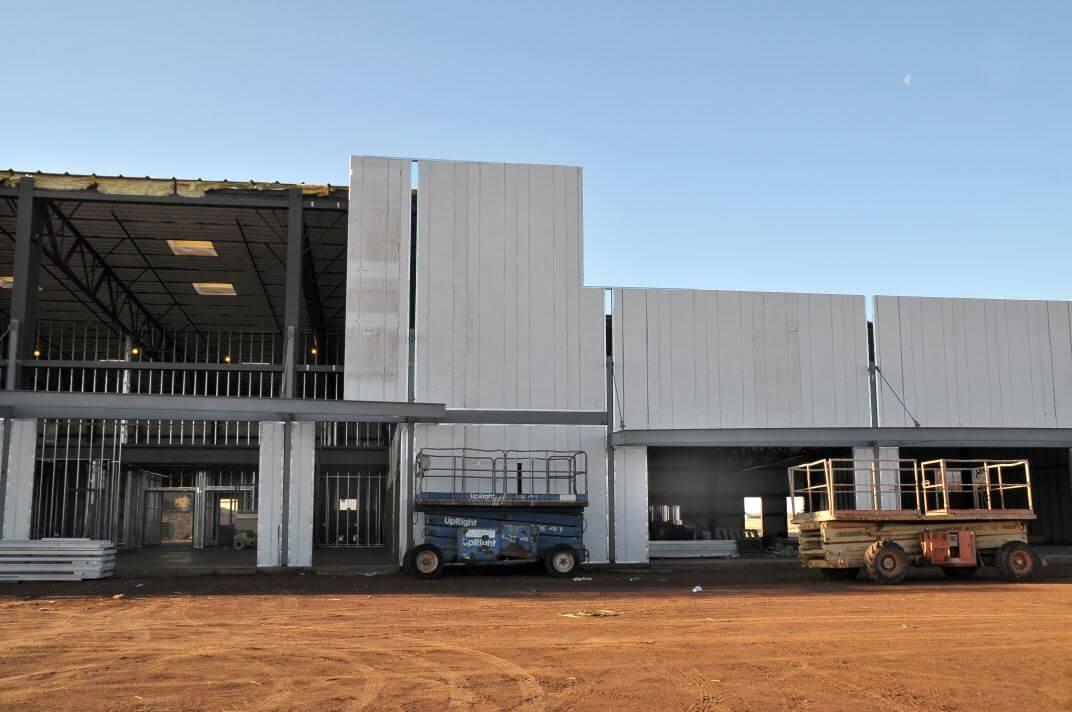 Centro Comercial Construcción Modular – TEMA-JS 005
