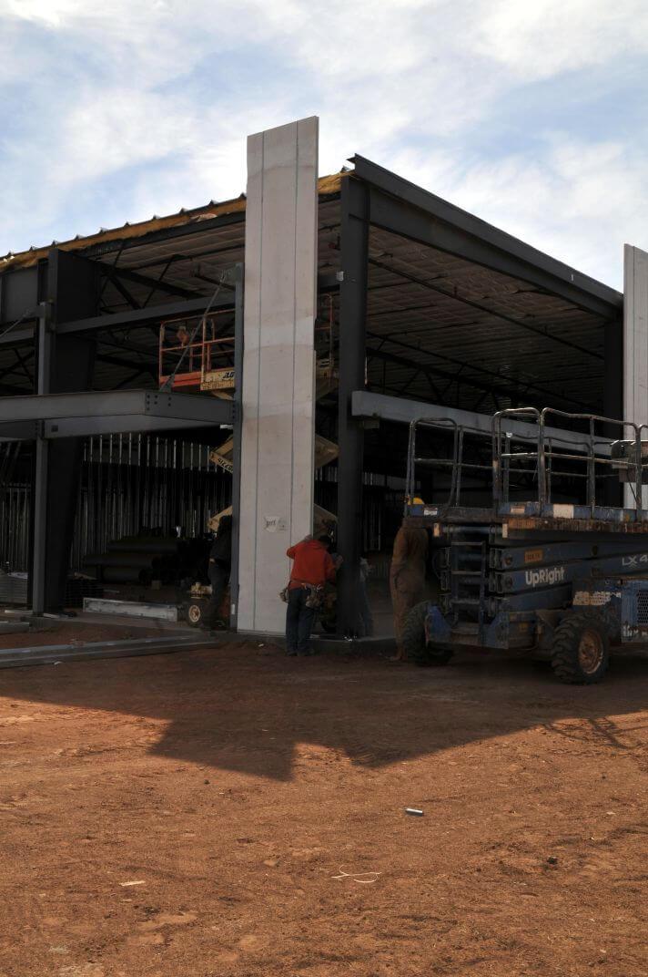 Centro Comercial Construcción Modular – TEMA-JS 007