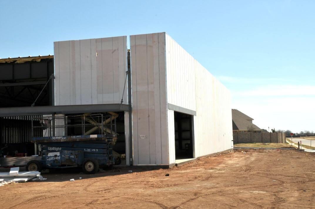 Centro Comercial Construcción Modular – TEMA-JS 009